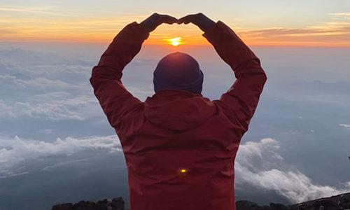 心の自由を満たすために♪お金を自由に使う生活~登山~